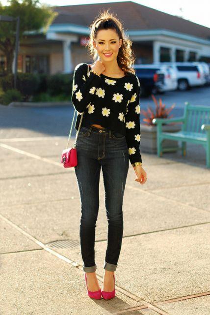 looks para festa com jeans