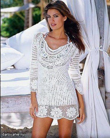 ff0e24f29ac0 Saídas de praia de crochê: 73 modelos da moda e receitas!