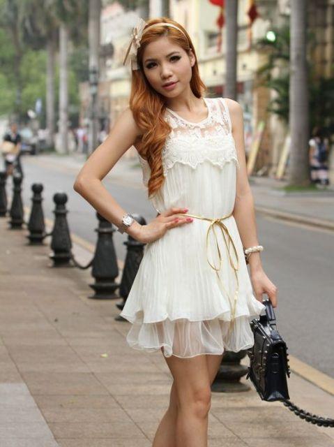 vestidos fofos e românticos