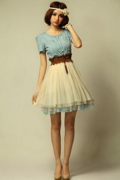 estilos de vestidos fofos e lindos