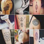 Tatuagem Geométrica: O que é? + de 50 ideias incríveis!