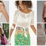 Blusas de crochê: 77 Modelos Lindos e Como Fazer (gráfico)!