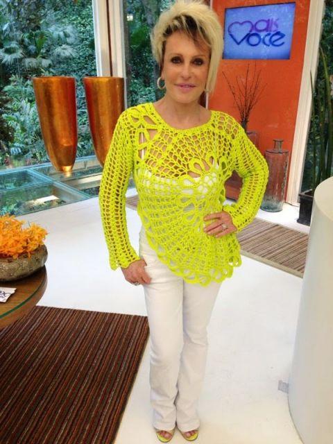 blusa Ana Maria Braga