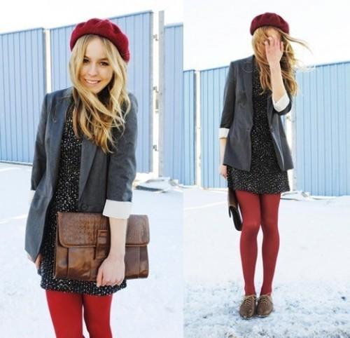 boina feminina inverno divertido