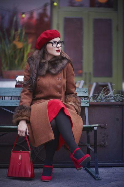 boina feminina inverno look