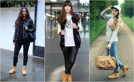 usar Bota Caramelo com jeans