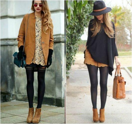 bota caramelo cano curto na moda inverno