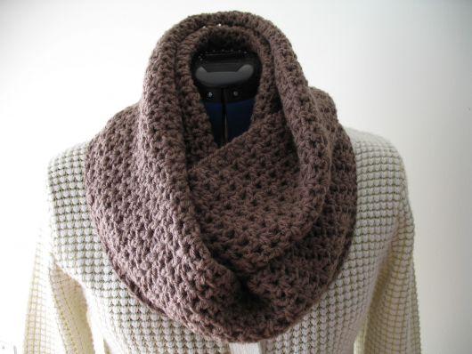 Resultado de imagem para cachecol de crochê