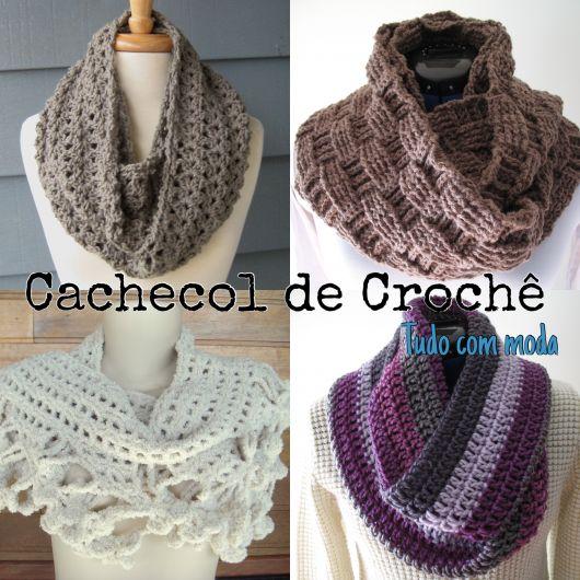 Cachecol de Crochê: modelos, dicas de como usar e fazer!