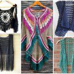 Coletes de crochê: modelos, looks, gráficos e receitas!