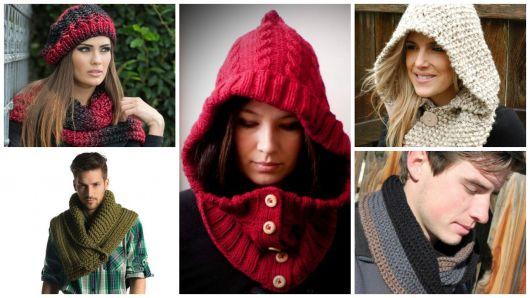 Gola de tricô: modelos, como usar e passo a passo!