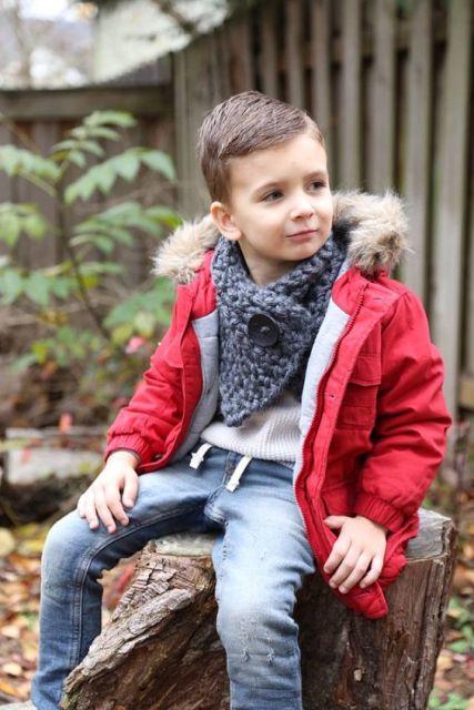 look infantil menino