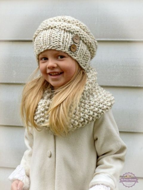 Free Knitting Patterns Childrens Hats And Scarves : Gola de tricO: modelos, como usar e passo a passo!