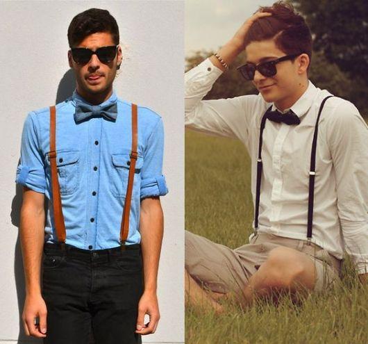 gravata borboleta no estilo casual
