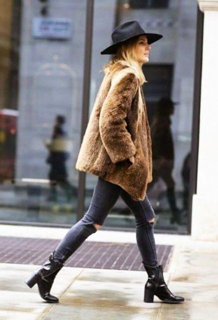 Looks com ankle boot para a moda inverno