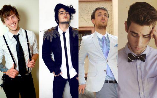 modelos de gravatas destaque