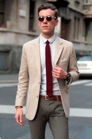 modelos de gravatas ponta reta