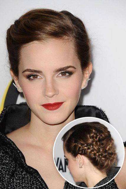 penteado Emma Watson