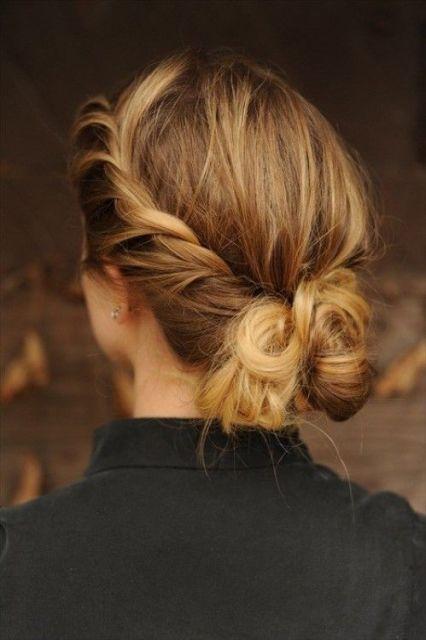 cabelo preso dia a dia