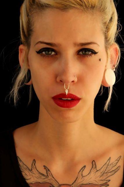 piercing no nariz indiano