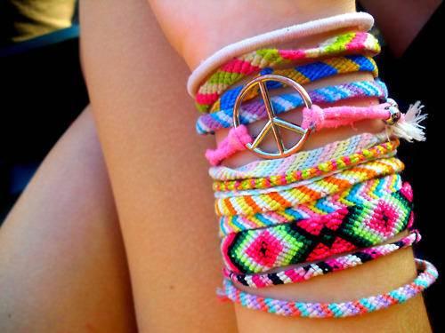 modelos de pulseiras hippie