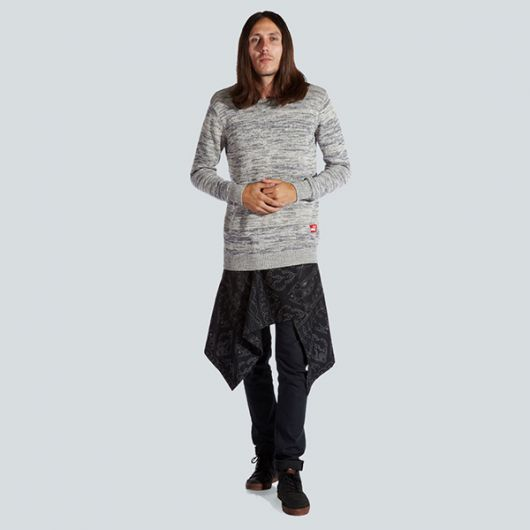 saia masculina com calça