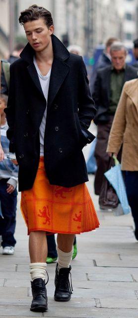 saia masculina descolada street