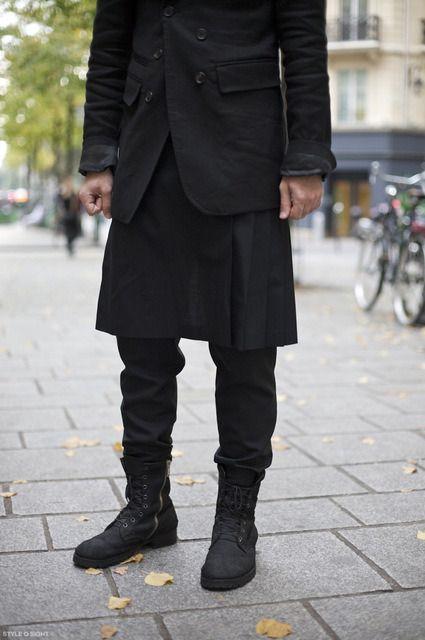 saia masculina gotica