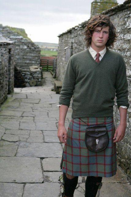 saia masculina kilt moderno