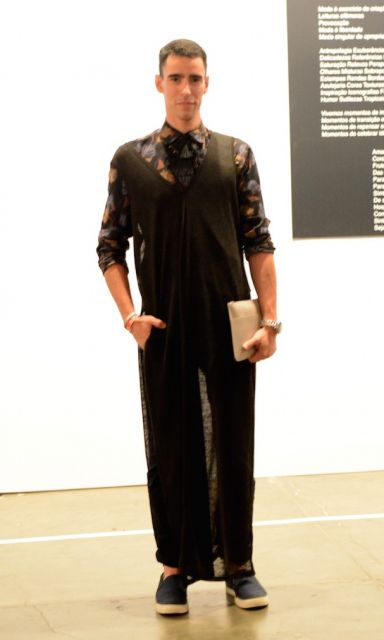 saia masculina longa