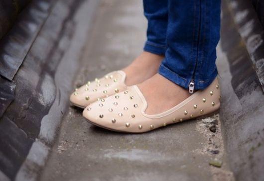 sapatilha com spikes slipper