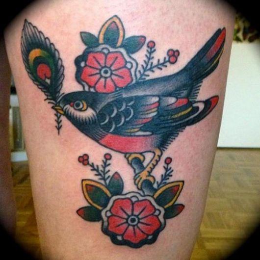 Tattoo Old School: O que é? 55 inspirações incríveis!