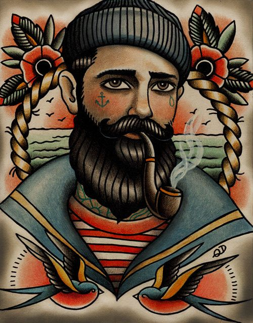 tattoo old school sailor