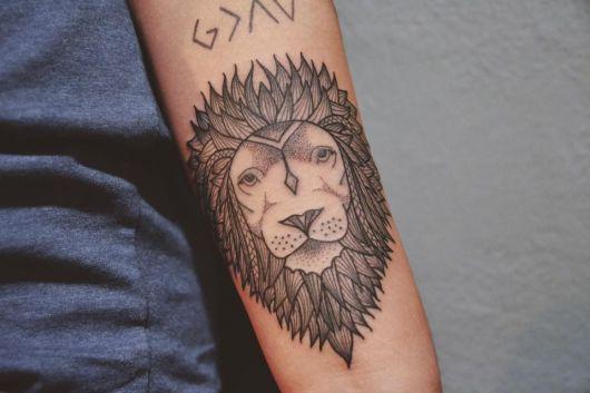 tatuagens com pontilhismo animais como é feita