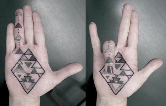 tatuagens com pontilhismo o que é