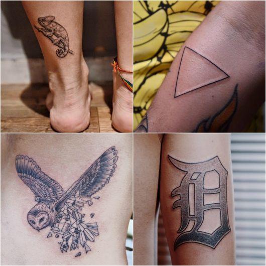Tatuagens com Pontilhismo: Como são feitas? 40 ideias!