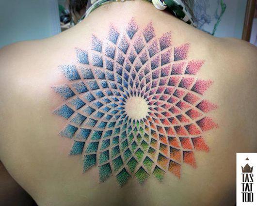 tatuagens com pontilhismo rodrigo tas