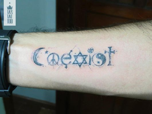 tatuagens com pontilhismo tas