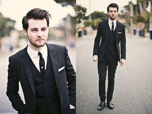 terno e gravata slim