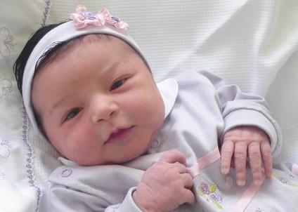tiaras de cetim para bebês