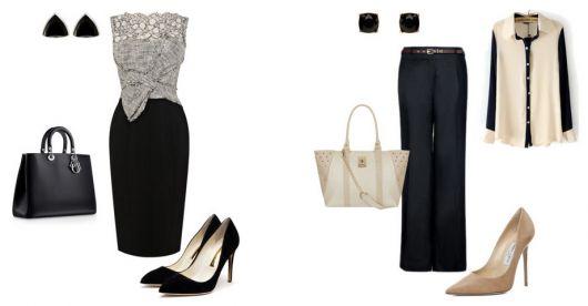 traje passeio completo feminino calça e saia