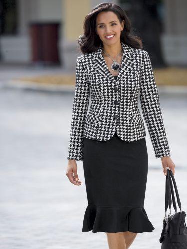 traje passeio completo feminino para o dia