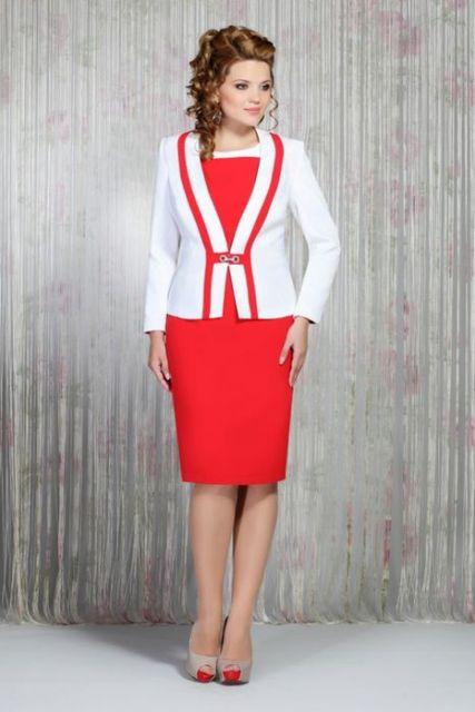 traje passeio completo feminino reunião