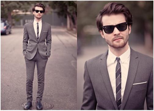 traje passeio completo masculino jovem