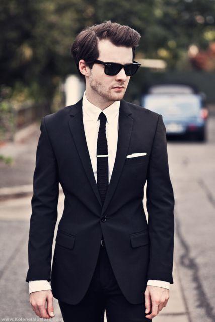 traje passeio completo masculino slim