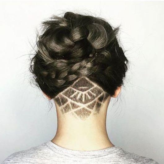 cabelo preso