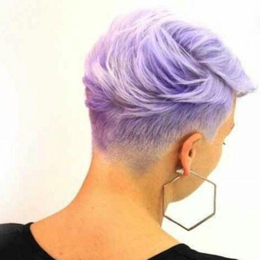 cabelo curto colorido
