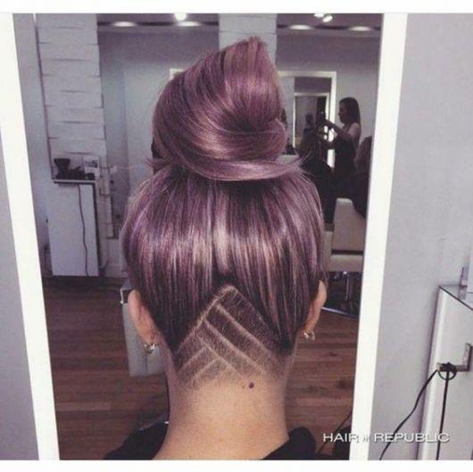 cabelo colorido suave