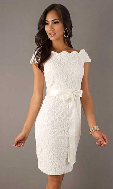 vestido de noiva de crochê estilo tubinho
