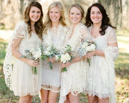 vestido de noiva de crochê forro MODELOS